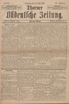Thorner Ostdeutsche Zeitung. Jg.28, № 169 (21 Juli 1901) - Zweites Blatt