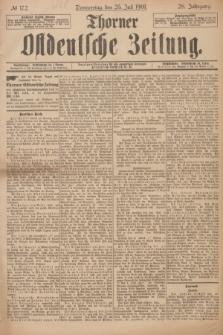Thorner Ostdeutsche Zeitung. Jg.28, № 172 (25 Juli 1901) + dod.
