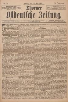 Thorner Ostdeutsche Zeitung. Jg.28, № 173 (26 Juli 1901) + dod.