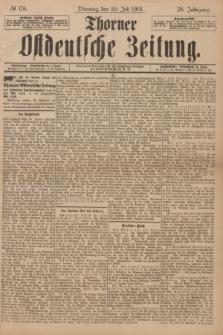 Thorner Ostdeutsche Zeitung. Jg.28, № 176 (30 Juli 1901) + dod.