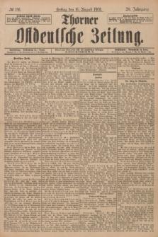 Thorner Ostdeutsche Zeitung. Jg.28, № 191 (16 August 1901) + dod.