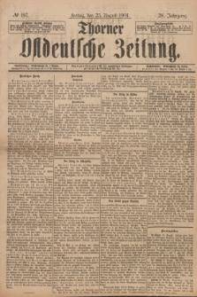 Thorner Ostdeutsche Zeitung. Jg.28, № 197 (23 August 1901) + dod.