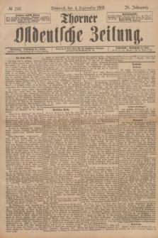 Thorner Ostdeutsche Zeitung. Jg.28, № 207 (4 September 1901) + dod.