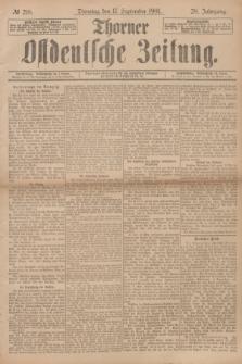 Thorner Ostdeutsche Zeitung. Jg.28, № 218 (17 September 1901) + dod.