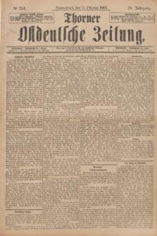 Thorner Ostdeutsche Zeitung. Jg.28, № 234 (5 Oktober 1901) + dod.
