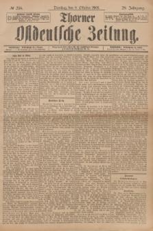 Thorner Ostdeutsche Zeitung. Jg.28, № 236 (8 Oktober 1901) + dod.