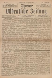 Thorner Ostdeutsche Zeitung. Jg.28, № 242 (15 Oktober 1901) + dod.