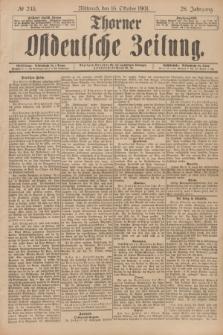 Thorner Ostdeutsche Zeitung. Jg.28, № 243 (16 Oktober 1901) + dod.