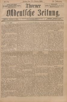 Thorner Ostdeutsche Zeitung. Jg.28, № 251 (25 Oktober 1901) + dod.