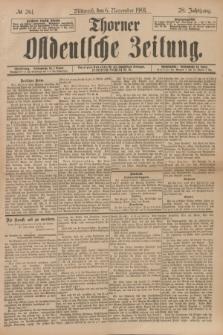Thorner Ostdeutsche Zeitung. Jg.28, № 261 (6 November 1901) + dod.