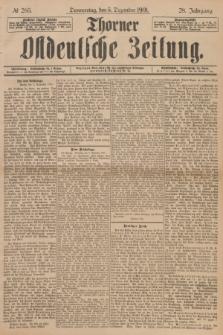 Thorner Ostdeutsche Zeitung. Jg.28, № 285 (5 Dezember 1901) + dod.
