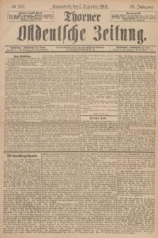 Thorner Ostdeutsche Zeitung. Jg.28, № 287 (7 Dezember 1901) + dod.