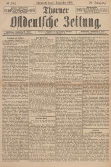 Thorner Ostdeutsche Zeitung. Jg.28, № 290 (11 Dezember 1901) + dod.
