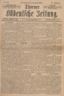 Thorner Ostdeutsche Zeitung. Jg.28, № 295 (17 Dezember 1901) + dod.