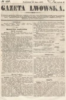 Gazeta Lwowska. 1857, nr157