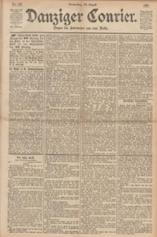 Danziger Courier : Organ für Jedermann aus dem Volke. Jg.12, Nr. 198 (24 August 1893)