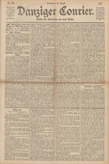 Danziger Courier : Organ für Jedermann aus dem Volke. Jg.12, Nr. 204 (31 August 1893)