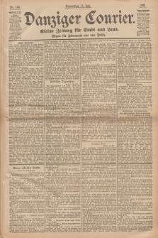 Danziger Courier : Kleine Zeitung für Stadt und Land : Organ für Jedermann aus dem Volke. Jg.14, Nr. 160 (11 Juli 1895)