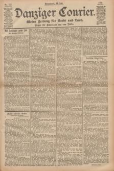 Danziger Courier : Kleine Zeitung für Stadt und Land : Organ für Jedermann aus dem Volke. Jg.14, Nr. 162 (13 Juli 1895)