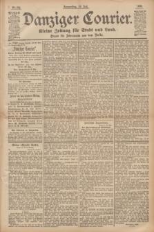 Danziger Courier : Kleine Zeitung für Stadt und Land : Organ für Jedermann aus dem Volke. Jg.14, Nr. 166 (18 Juli 1895)