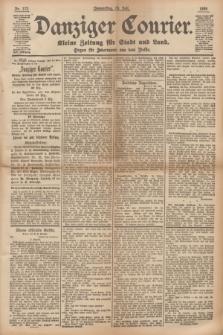 Danziger Courier : Kleine Zeitung für Stadt und Land : Organ für Jedermann aus dem Volke. Jg.14, Nr. 172 (25 Juli 1895)