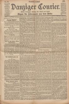 Danziger Courier : Kleine Danziger Zeitung für Stadt und Land : Organ für Jedermann aus dem Volke. Jg.14, Nr. 180 (3 August 1895)