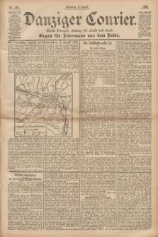 Danziger Courier : Kleine Danziger Zeitung für Stadt und Land : Organ für Jedermann aus dem Volke. Jg.14, Nr. 181 (4 August 1895)