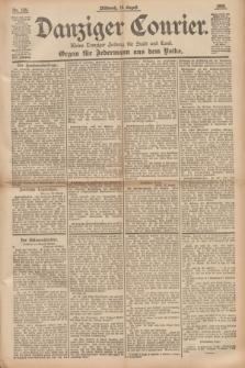 Danziger Courier : Kleine Danziger Zeitung für Stadt und Land : Organ für Jedermann aus dem Volke. Jg.14, Nr. 189 (14 August 1895)