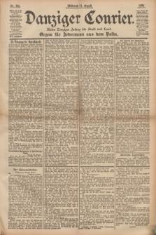 Danziger Courier : Kleine Danziger Zeitung für Stadt und Land : Organ für Jedermann aus dem Volke. Jg.14, Nr. 195 (21 August 1895)
