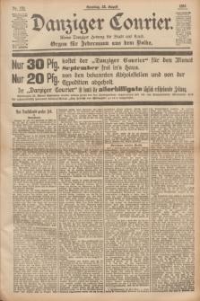 Danziger Courier : Kleine Danziger Zeitung für Stadt und Land : Organ für Jedermann aus dem Volke. Jg.14, Nr. 199 (25 August 1895) + dod.