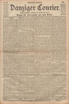 Danziger Courier : Kleine Danziger Zeitung für Stadt und Land : Organ für Jedermann aus dem Volke. Jg.14, Nr. 207 (5 September 1895)