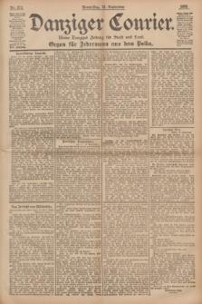 Danziger Courier : Kleine Danziger Zeitung für Stadt und Land : Organ für Jedermann aus dem Volke. Jg.14, Nr. 213 (12 September 1895)