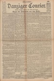 Danziger Courier : Kleine Danziger Zeitung für Stadt und Land : Organ für Jedermann aus dem Volke. Jg.14, Nr. 244 (18 Oktober 1895) + dod.