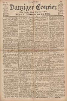 Danziger Courier : Kleine Danziger Zeitung für Stadt und Land : Organ für Jedermann aus dem Volke. Jg.14, Nr. 247 (22 Oktober 1895)