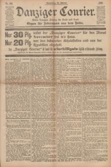 Danziger Courier : Kleine Danziger Zeitung für Stadt und Land : Organ für Jedermann aus dem Volke. Jg.14, Nr. 249 (24 Oktober 1895)