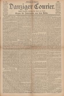 Danziger Courier : Kleine Danziger Zeitung für Stadt und Land : Organ für Jedermann aus dem Volke. Jg.14, Nr. 266 (13 November 1895)