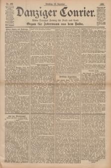 Danziger Courier : Kleine Danziger Zeitung für Stadt und Land : Organ für Jedermann aus dem Volke. Jg.14, Nr. 288 (10 Dezember 1895)