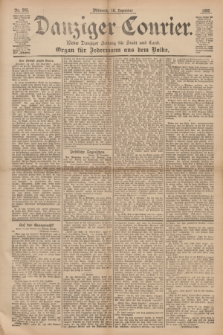 Danziger Courier : Kleine Danziger Zeitung für Stadt und Land : Organ für Jedermann aus dem Volke. Jg.14, Nr. 295 (18 Dezember 1895)