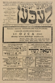 Radomer-Kielcer Leben. 1928, nr3