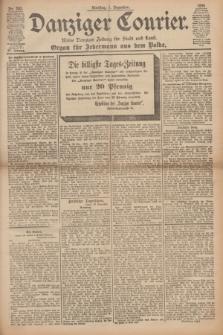 Danziger Courier : Kleine Danziger Zeitung für Stadt und Land : Organ für Jedermann aus dem Volke. Jg.15, Nr. 282 (1 Dezember 1896)