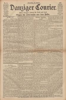 Danziger Courier : Kleine Danziger Zeitung für Stadt und Land : Organ für Jedermann aus dem Volke. Jg.16, Nr. 11 (14 Januar 1897)