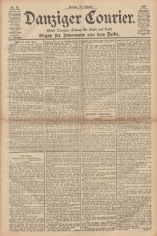 Danziger Courier : Kleine Danziger Zeitung für Stadt und Land : Organ für Jedermann aus dem Volke. Jg.16, Nr. 12 (15 Januar 1897) + dod.