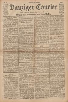 Danziger Courier : Kleine Danziger Zeitung für Stadt und Land : Organ für Jedermann aus dem Volke. Jg.16, Nr. 16 (20 Januar 1897)
