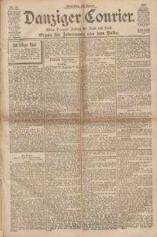 Danziger Courier : Kleine Danziger Zeitung für Stadt und Land : Organ für Jedermann aus dem Volke. Jg.16, Nr. 23 (28 Januar 1897)