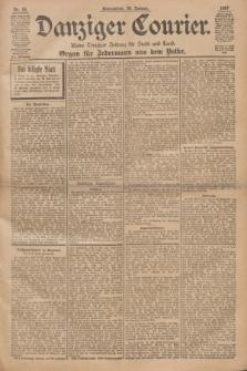 Danziger Courier : Kleine Danziger Zeitung für Stadt und Land : Organ für Jedermann aus dem Volke. Jg.16, Nr. 25 (30 Januar 1897)