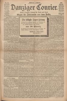 Danziger Courier : Kleine Danziger Zeitung für Stadt und Land : Organ für Jedermann aus dem Volke. Jg.16, Nr. 28 (3 Februar 1897)