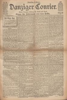 Danziger Courier : Kleine Danziger Zeitung für Stadt und Land : Organ für Jedermann aus dem Volke. Jg.16, Nr. 29 (4 Februar 1897)