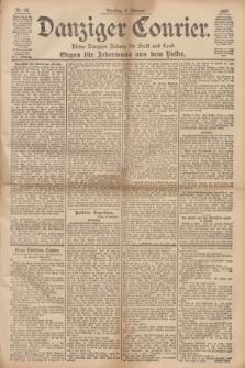 Danziger Courier : Kleine Danziger Zeitung für Stadt und Land : Organ für Jedermann aus dem Volke. Jg.16, Nr. 33 (9 Februar 1897)