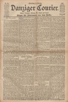 Danziger Courier : Kleine Danziger Zeitung für Stadt und Land : Organ für Jedermann aus dem Volke. Jg.16, Nr. 35 (11 Februar 1897)