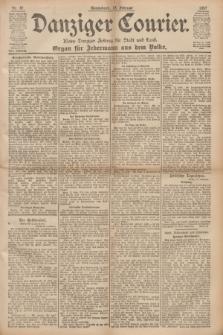 Danziger Courier : Kleine Danziger Zeitung für Stadt und Land : Organ für Jedermann aus dem Volke. Jg.16, Nr. 37 (13 Februar 1897)